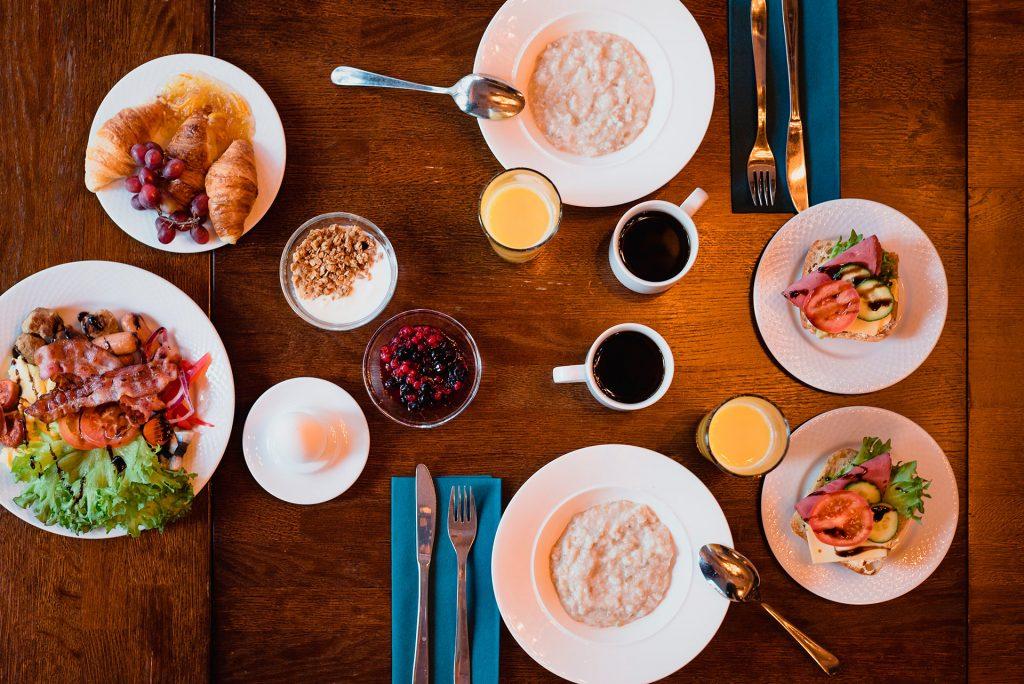Aamiainen-sorsanpesa